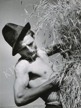 Szendrő István - Aratás, 1938 körül