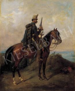 Böhm, Pál - Hussar Riding