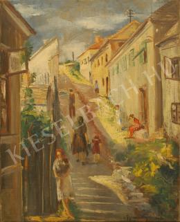 Gyarmathy Tihamér - Utcakép, 1931