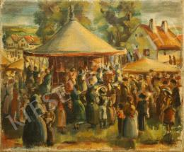 Gyarmathy Tihamér - Búcsú Igalban, 1932