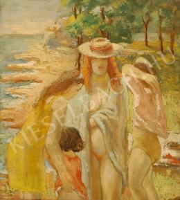 Gyarmathy Tihamér - Fürdőzők, 1938