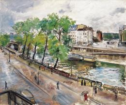 Jobbágyi Gaiger Miklós - A párizsi Szajna-part