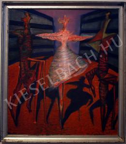 Kazovszkij, El - Táncosnő két kísérővel, 1992