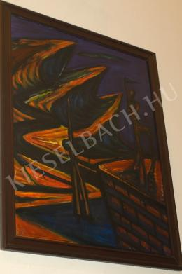 Kazovszkij, El - Tájkép Kentaurral II, 1990
