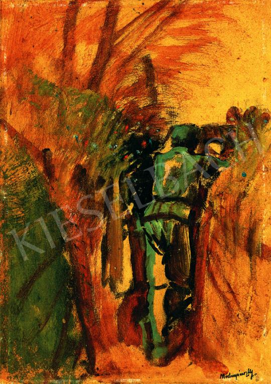 Mednyánszky, László - In the Trench   38th Auction auction / 6 Item