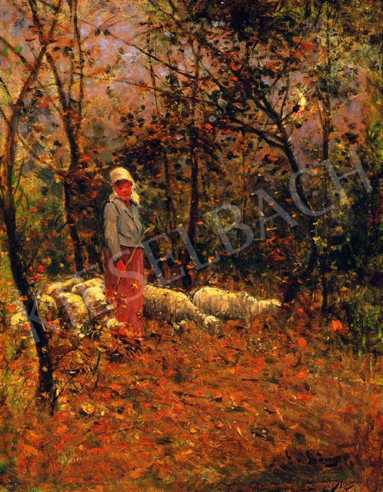 K. Spányi, Béla - In the Woods | 38th Auction auction / 7 Item