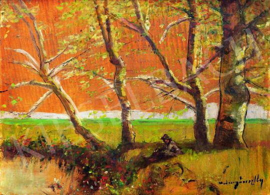 Mednyánszky, László - In the Garden   38th Auction auction / 8 Item
