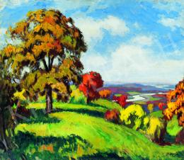 Balla, Béla - Autumn Blaze (Transsylvanian Landscape)