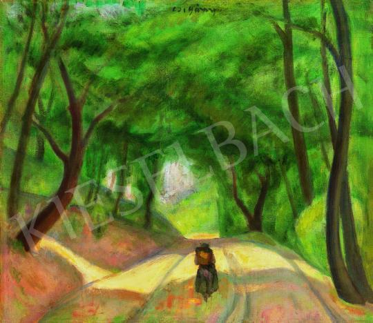 Czigány, Dezső - Shady Road (Forest Track), around 1935 | 38th Auction auction / 13 Item