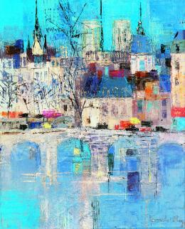 Ney, László (Lancelot Ney) - The Seine in Paris