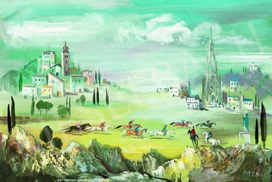 Molnár C., Pál - Italian Landscape (Quattrocento)   38th Auction auction / 18 Item