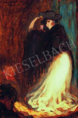 Vaszary János - Táncosnő (1905)