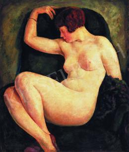 Podolini-Volkman, Artúr - Reclining Female Nude