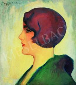 Barta István - Art deco nő, 1937