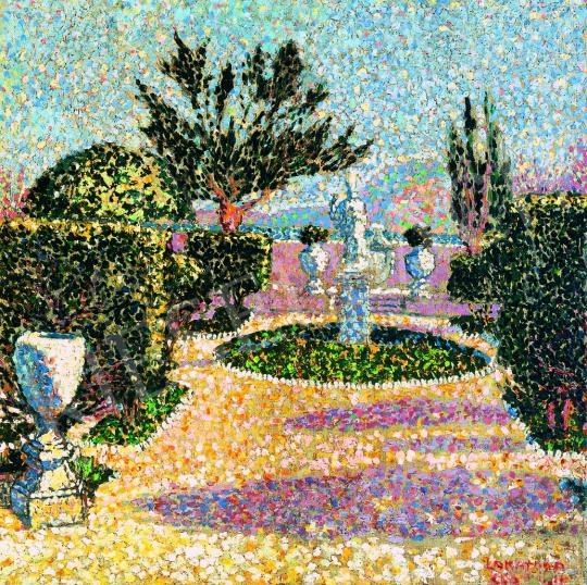 Lakatos, Artúr - Park Scene, around 1906   38th Auction auction / 25 Item