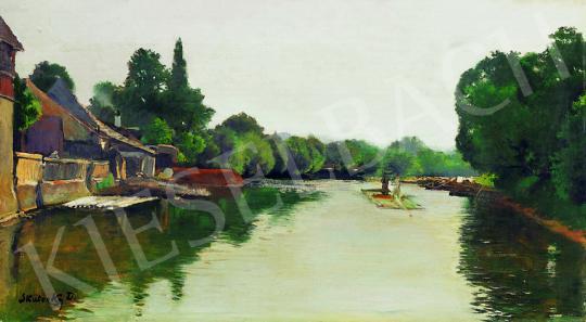 Skuteczky, Döme - Riverside Landscape | 38th Auction auction / 26 Item