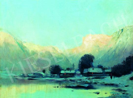 Mednyánszky, László - In the Mountains   38th Auction auction / 28 Item
