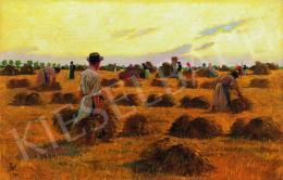 Tull, Ödön - Harvesters, 1881