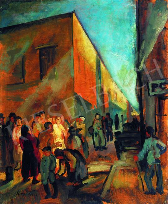 Szőnyi, István - Street in Rome, 1925 | 38th Auction auction / 32 Item