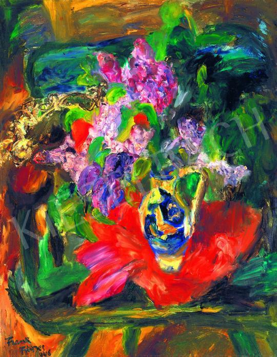 Frank Frigyes - Orgonás csendélet | 38. Aukció aukció / 35 tétel