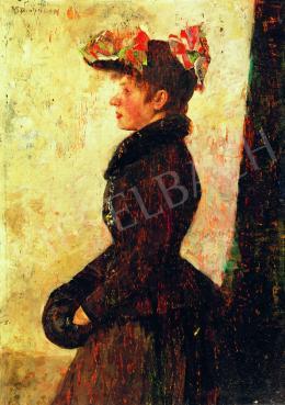 Magyar Mannheimer, Gusztáv - Parisian Woman