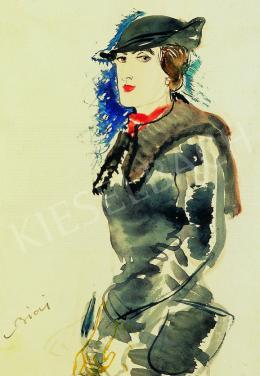Biai-Föglein, István - Woman in a Hat