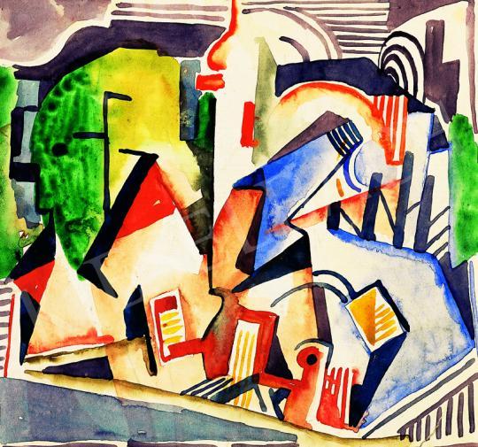 Kádár, Béla - City | 38th Auction auction / 49 Item
