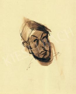 Tihanyi, Lajos, - Self-Portrait
