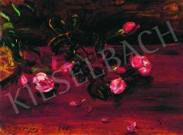 Gulácsy Lajos - Utolsó rózsák, 1906