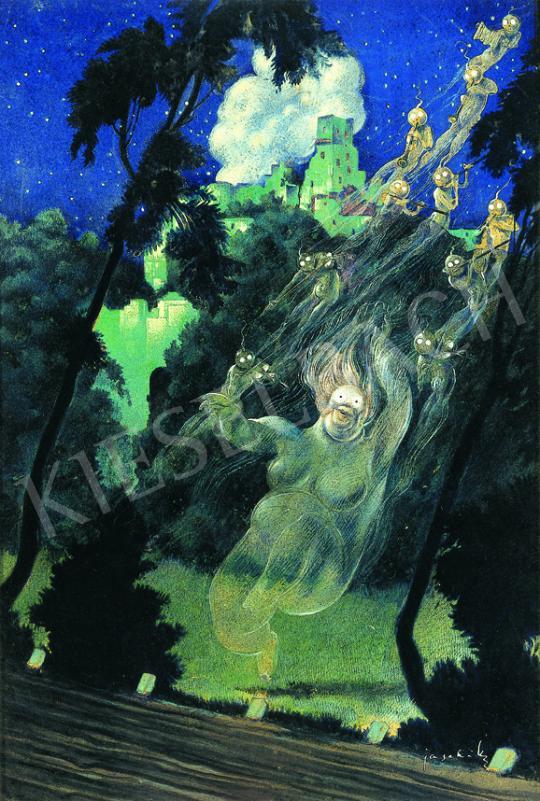 Jaschik Álmos - Szellemek (Boszorkánytánc) | 38. Aukció aukció / 115 tétel