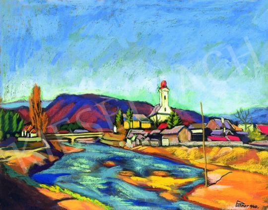 Pittner Olivér - Nagybánya, 1940   38. Aukció aukció / 122 tétel