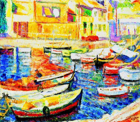 Vén Emil - Csónakkikötő | 38. Aukció aukció / 145 tétel