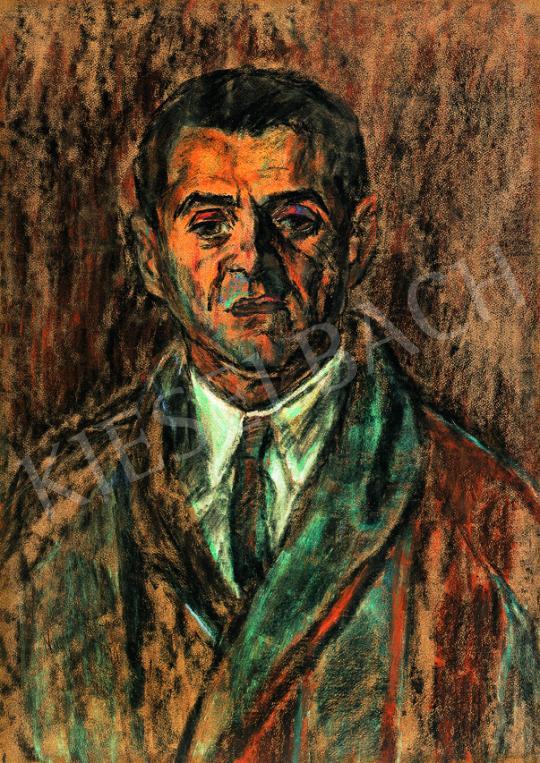 Nagy István - Férfi portré, 1929 | 38. Aukció aukció / 149 tétel