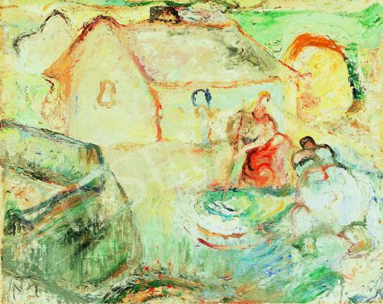 Tóth, Menyhért - By the Stream | 38th Auction auction / 172 Item