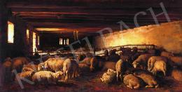Pállik Béla - Bárányok, 1872