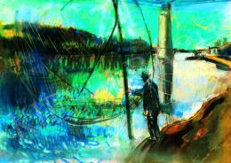 Bernáth Aurél - Tiszai halász