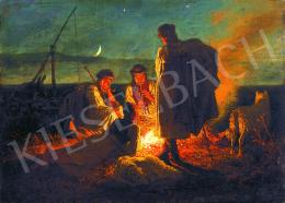 Lotz, Károly - Campfire