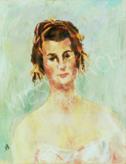 Bernáth Aurél - Csilla portréja