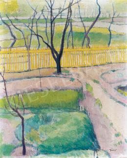 Jávor Pál - Tavaszi kert