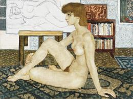Czene, Béla jr. - Nude in Interior, 1977