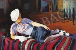 Istókovits Kálmán - Kalapos lány, 1934