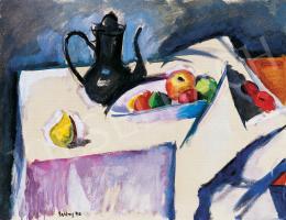 Berény Róbert - Csendélet kancsóval és gyümölcsökkel (1910)