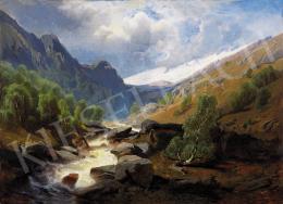 Schaeffer, August - Hegyi patak