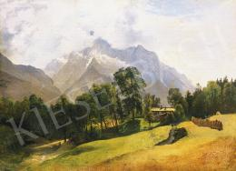 Gauermann, Friedrich - Alpesi táj