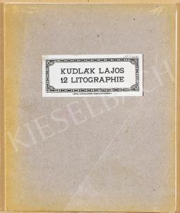 Kudlák, Lajos (Ludovik Kudlak) - Portfolio of 12 Litographs