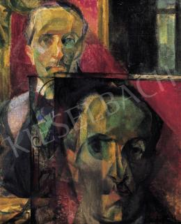 Szobotka, Imre - Doubled Self-portrait