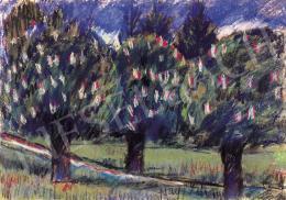 Nagy István - Virágzó fák