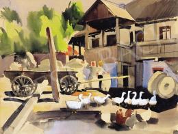 Aba-Novák Vilmos - Malomudvar, 1935