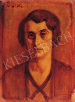 Czigány Dezső - Női portré