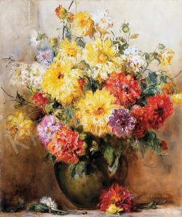 Dolányi Benczúr Ida - Színes virágok